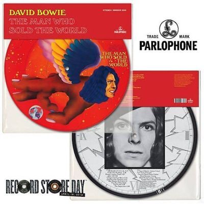 David Bowie - The Man Who Sold The World Pic Disc Lp Rsd Record Store Day 2016#