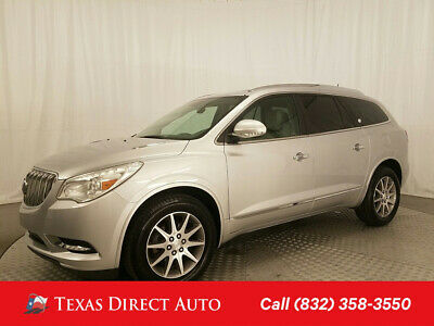 2016 Buick Enclave Leather Texas Direct Auto 2016 Leather Used 3.6L V6 24V Automatic AWD SUV OnStar