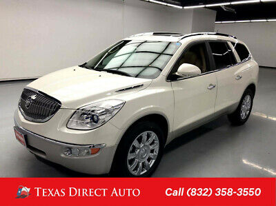 2012 Buick Enclave Leather Texas Direct Auto 2012 Leather Used 3.6L V6 24V Automatic FWD SUV Bose OnStar