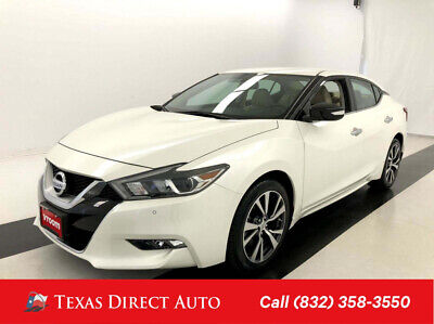 2016 Nissan Maxima 3.5 SV Texas Direct Auto 2016 3.5 SV Used 3.5L V6 24V Automatic FWD Sedan Premium