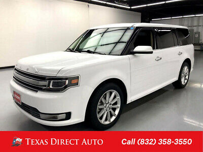 2019 Ford Flex Limited Texas Direct Auto 2019 Limited Used 3.5L V6 24V Automatic FWD SUV