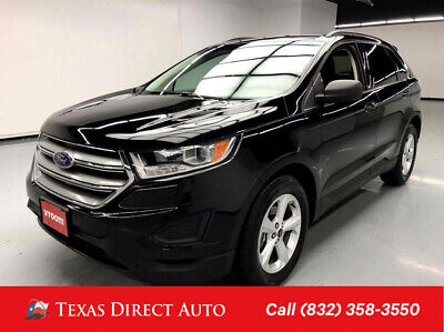 2016 Ford Edge SE Texas Direct Auto 2016 SE Used Turbo 2L I4 16V Automatic FWD SUV Premium