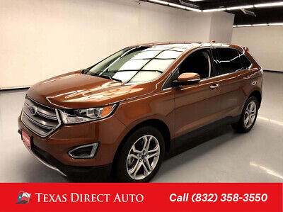 2017 Ford Edge Titanium Texas Direct Auto 2017 Titanium Used 3.5L V6 24V Automatic AWD SUV Premium