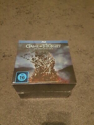 Game Of Thrones Bluray Limited Edition Box 1-8 OVP