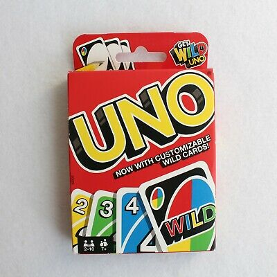 Original UNO CLASSIC card game with customizable WILD CARDS new SEALED