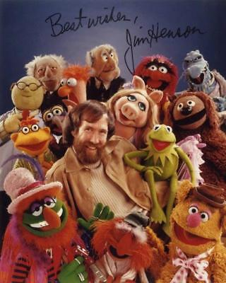 REPRINT - JIM HENSON Muppets Autographed Signed 8 x 10 Photo Poster RP