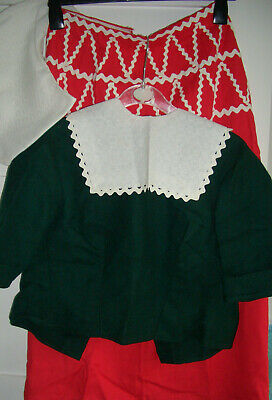 Ladies Handmade Vintage Dutch Lady Outfit in Size 10-12