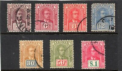 Sarawak 1928 vals to $1 used as per scan.  Cat £143
