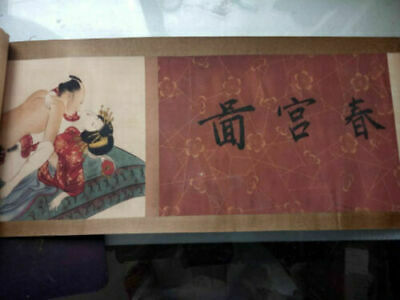 Old Collection Scroll Chinese Ink And Wash Painting Dragon