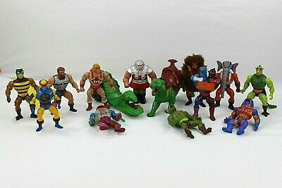 Masters of the Universe Mixed Lot - 12 Action Figures + Battle Cat & Road Ripper