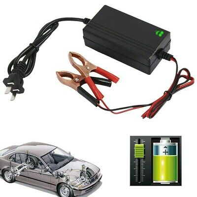 Motorcycle 12V Smart Charging Battery Charger Maintainer Trickle RV Car Truck