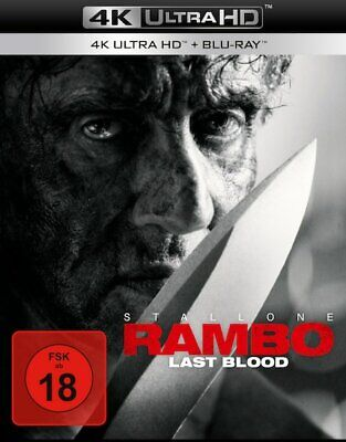 Rambo Last Blood Mit Sylvester Stallone 4K Ultra Hd + Blu-Ray Deutsch