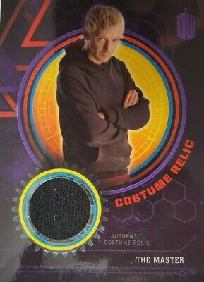 DR WHO EXTRATERRESTRIAL ENCOUNTERS Costume Relic Card THE MASTER /50