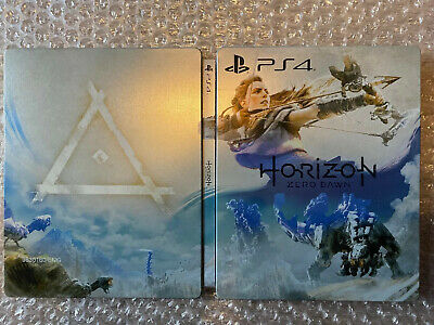 Horizon Zero Dawn Steelbook (NO GAME) PS4 Limited Edition/Collectors Edition