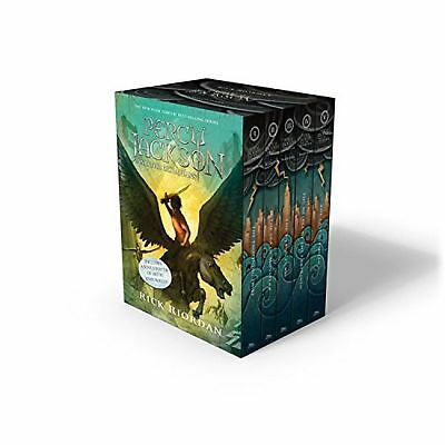Percy Jackson and the Olympians 5 Book Set by Rick Riordan (Paperback, 2014)