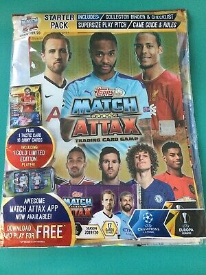 MATCH ATTAX UEFA Champions LEAGUE Football 2019/20 STARTER PACK free app code