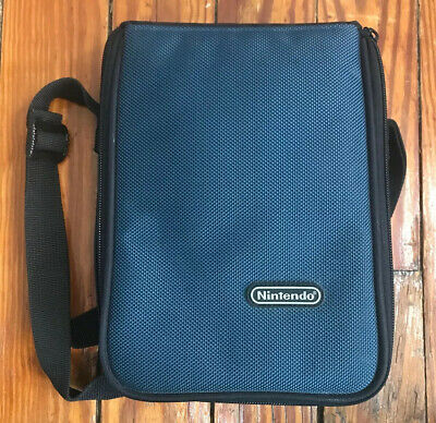 Genuine Nintendo Carrying Case DSi DS lite Gameboy Advance and Games Blue