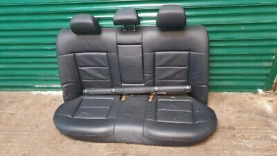 MERCEDES E-CLASS W212 SALOON REAR SEAT HEADREST BLACK LEATHER LEFT OR RIGHT