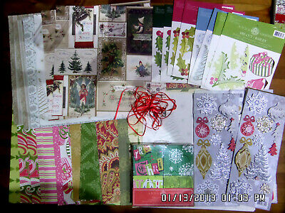 "ANNA GRIFFIN Christmas Kit 48 12""x12"" Papers-8xDie cut Sheets 3x3D Sheets & More"