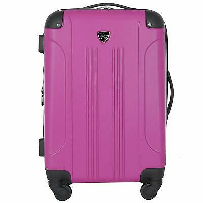 """Travelers Club 20"""" Chicago Expandable Spinner Carry-On Luggage"""
