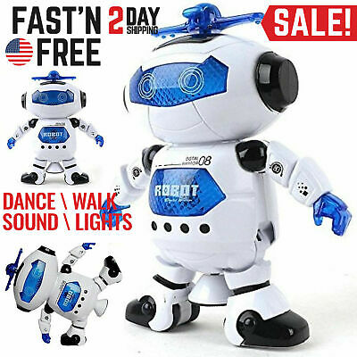 Toys For Boys Kids Children Dancing Robot for 3 4 5 6 7 8 9 10 Years Olds Age