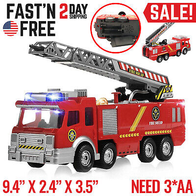 Toys For Boys Kids Children Fire Truck for 3 4 5 6 7 8 9 10 Years Olds Age