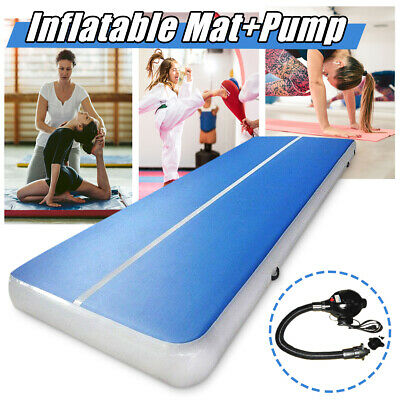 20FT Airtrack Inflatable Air Track Floor Home Gymnastics Tumbling Mat GYM + Pump