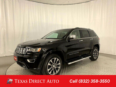 2017 Jeep Grand Cherokee Overland Texas Direct Auto 2017 Overland Used 5.7L V8 16V Automatic 4WD SUV