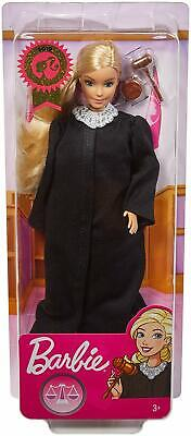 Barbie 2019 Career of the Year JUDGE Doll Long Blonde Hair Girl Mattel - NEW