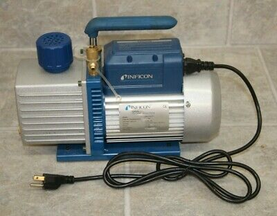 Inficon QS5 Two-Stage Vacuum Pump Model 700-100-P1