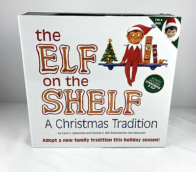 GENUINE 2005 Elf On The Shelf Light Brown Hair Skin Blue Eyes BOY original box