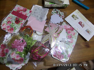 ANNA GRIFFIN Gracious Giftables Gift Card Holder,Tags,Ribbons&Embellishments