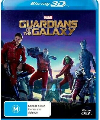 Guardians of The Galaxy : 3D Blu-Ray : NEW & Sealed!