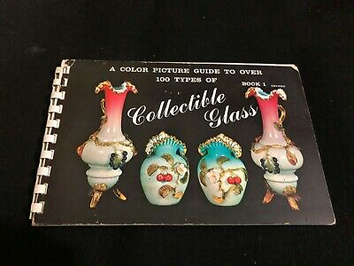 VINTAGE PRICE COLLECTORS GUIDE book - 1963 COLLECTIBLE GLASS book 1