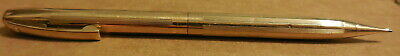 vintage Sheaffer Gold color white dot Mechanical pencil made in USA