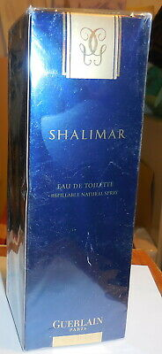 Guerlain Paris Shalimar Eau De Parfum Spray 3.1 fl oz with box sealed,perfume