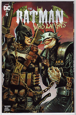 🔥 BATMAN WHO LAUGHS #4 Mico Suayan Exclusive Limited VARIANT Cover Scarce NM+🔥