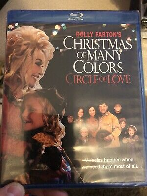 Dolly Parton's Christmas of Many Colors: Circle of Love (Blu-ray, 2016)BRAND NEW