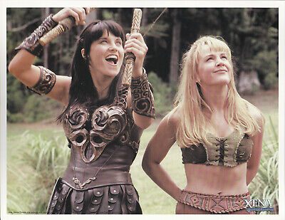 Xena Warrior Princess Gabrielle Lucy Lawless Official Photo 8.5 x 11 E
