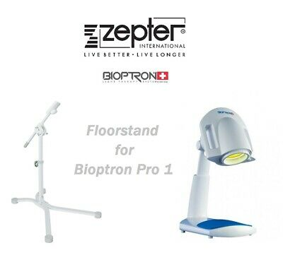 FLOORSTAND for Zepter Bioptron Pro1 heal lamp / Pro 1 light therapy device
