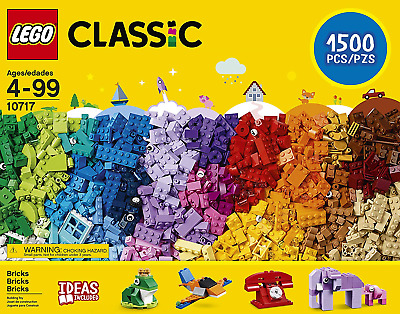 LEGO Classic Extra Large Stone Box 10717 Classic Building Toy for Children
