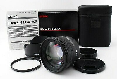 【 Free Shipping 】 Sigma EX 50mm f/1.4 HSM EX DG Lens For Minolta Sony EXCELLENT
