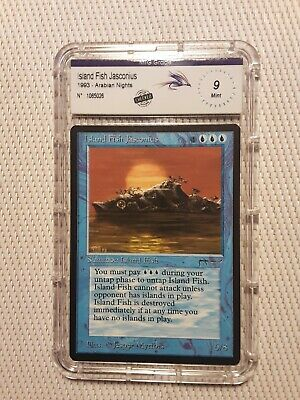 Island Fish Jasconius  Arabian night Magic The Gathering | MTG rare neuve