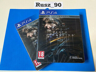 Death Stranding PS4 Special Steelbook Edition BRAND NEW & SEALED - FREE POSTAGE
