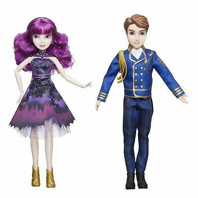 Disney Descendants 2 Royal Cotillion Couple Mal and King Ben of Auradon Set-D...
