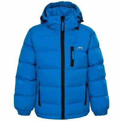 TRESPASS Boys Tuff Waterproof  Padded Hooded Jacket Blue age 2 / 3 years