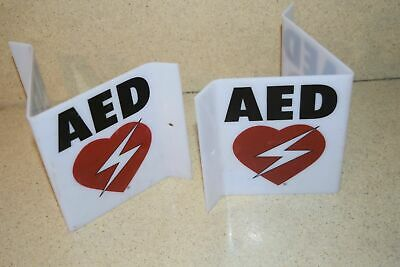 ^^ Aed 3D609BRW-RES Prominente Letrero