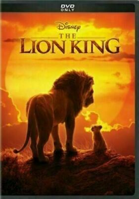 The Lion King (DVD, 2019) Live Action Movie Brand New Free Shipping!
