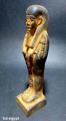 Rare  Ancient Ushabti Egyptian Faience  Shabti Egypt  Antique Statue BC