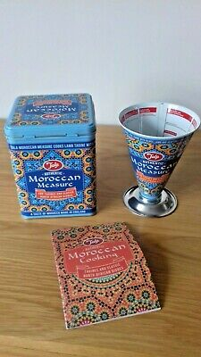 Authentic Moroccan Measure with Recipes Tagine & Classic north African dishes